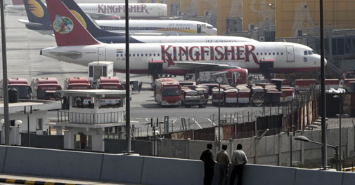 Unpaid Kingfisher staff moves Labour Commissioner