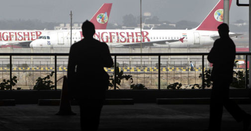 Kingfisher Airlines posts Rs 822 crore loss in Q3