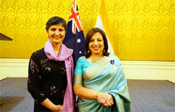 Kiran Mazumdar-Shaw fourth Indian to receive highest Australian civilian honour
