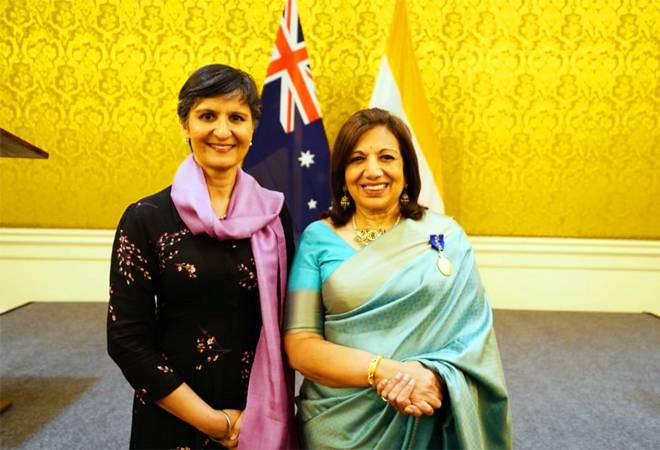 Kiran Mazumdar-Shaw fourth Indian to receive highest Australian civilian honour