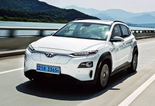 Hyundai Kona electric SUV explodes inside a home garage