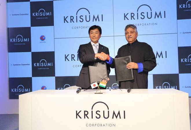 Sumitomo Corporation joins hands with Krishna Group to enter Indian real estate sector