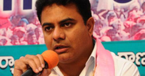 KT Rama Rao, Telangana's IT&C and Panchayat Raj Minister