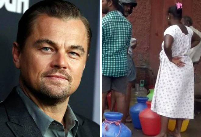 Leonardo DiCaprio shares distressing Chennai pic on Instagram, says only rain can save city
