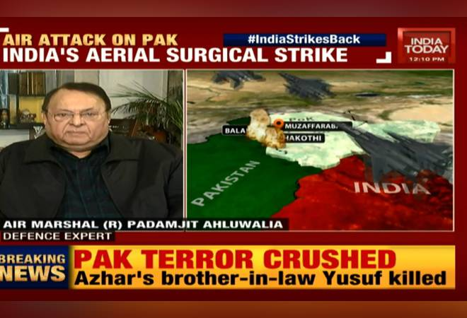 Indian Air Force attacks Pakistan terror camps: Watch Live TV coverage on India Today