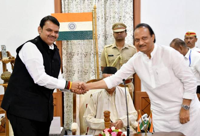 Maharashtra government formation is 'Mockery of the Constitution,' say Shiv Sena, Cong