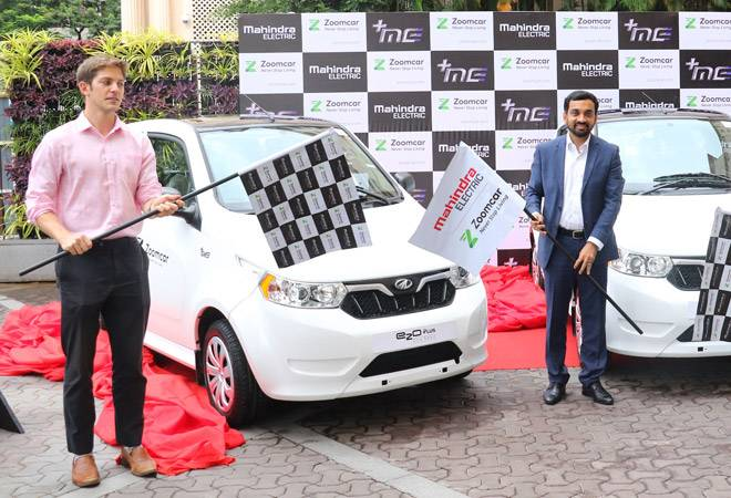 Mahindra partners with Zoomcar to introduce electric cars for rentals