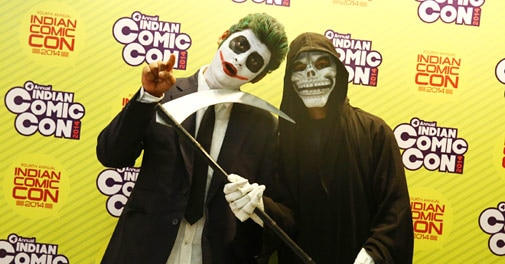 Comic Con 2014: Of Zombies, Superheroes and Fanboys