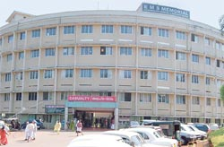A landmark: EMS Memorial Hospital is the largest in the cooperative sector in Kerala