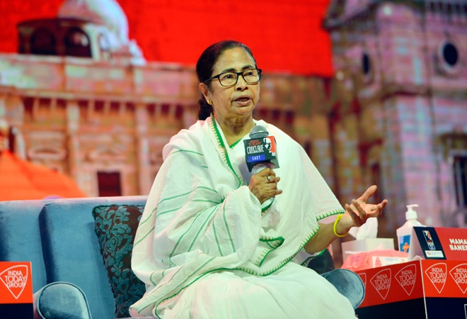 Made Budget on treadmill, says Mamata Banerjee at India Today Conclave