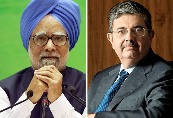 Uday Kotak echoes Manmohan Singh on low inflation, warns decline in economic activity