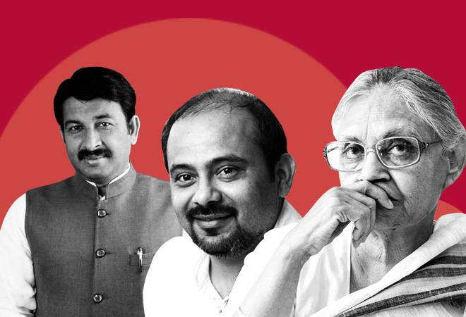 Lok Sabha Election results 2019: BJP's Manoj Tiwari leads in North East Delhi; Congress' Sheila Dikshit and AAP's Dilip Pandey trail