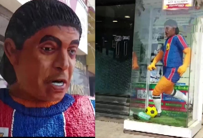 6-ft tall cake of Maradona! Tamil Nadu bakery pays tribute