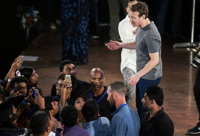 Facebook Inc Chief Executive Mark Zuckerberg