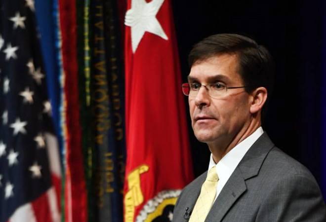 Trump nominates Army veteran Mark Esper as defence secretary