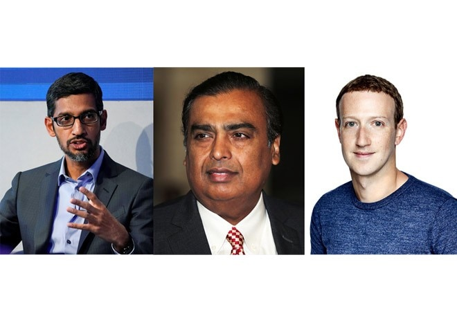 Reliance AGM 2020: Mukesh Ambani brings bitter rivals Facebook and Google together