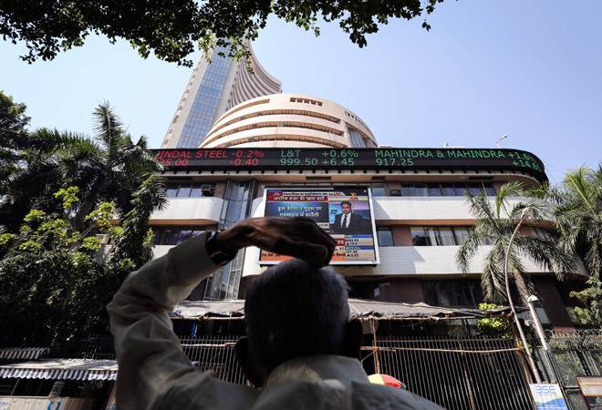 Sensex closes 179 points lower on Skymet's 'below normal' monsoon warning, Nifty at 11,673