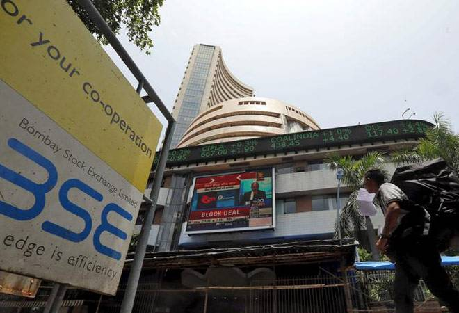 Sensex plunges 465 points to end below 28,000; Nifty closes at 8,591 as tensions at Border flare