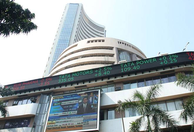 Sensex falls over 150 points, Nifty trading below 10,950 post Federal Reserve rate hike