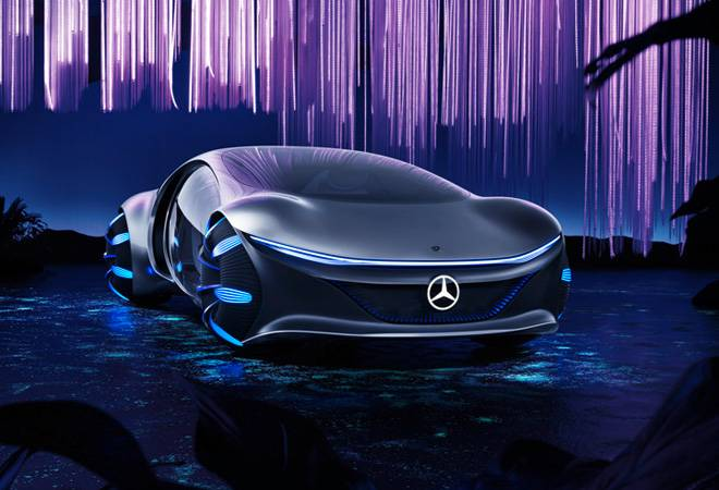 Mercedes-Benz unveils Vision AVTR concept car; inspired by James Cameron's Avatar