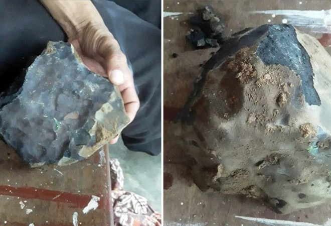Indonesian man becomes millionaire after meteorite crashes through his roof