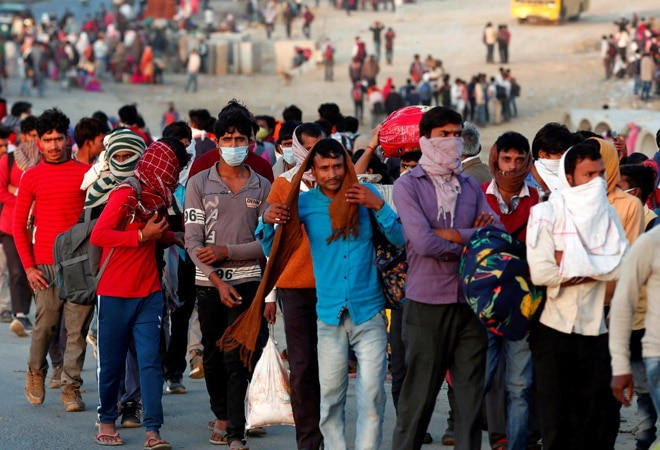 23% migrant workers walked back to villages during coronavirus lockdown