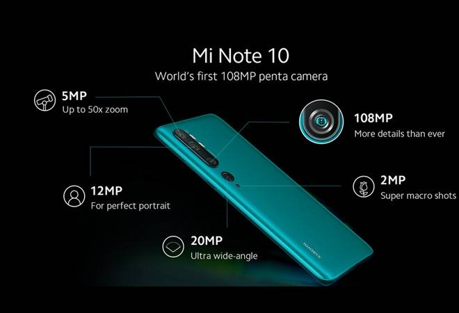 Mi Note 10 launch: Xiaomi to come up with world's 1st 108MP Penta camera smartphone