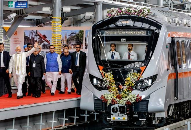 PM Modi inaugurates phase one of Ahmedabad Metro, takes a ride