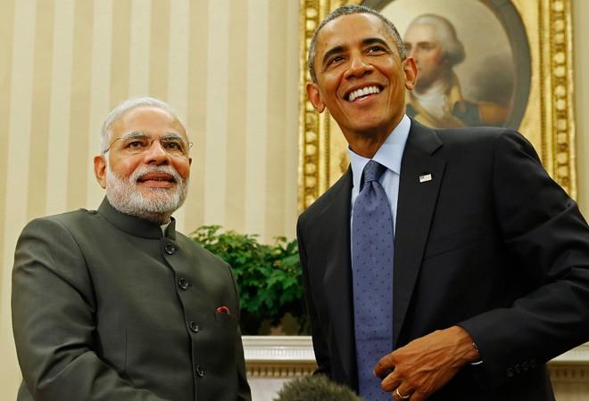 Prime Minister Narendra Modi and US President Barack Obama