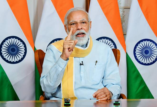 PM Modi warns China from Red Fort, raises Ladakh clashes in I-Day speech