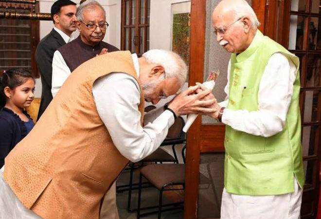 L K Advani BJP's tallest leader, forced to retire: Shiv Sena in Saamana editorial