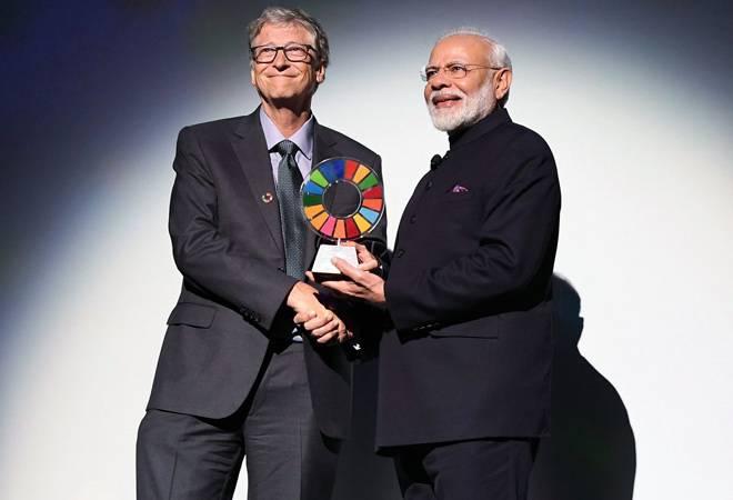 PM Modi gets Bill and Melinda Gates Foundation's Global Goalkeeper award for Swachh Bharat mission