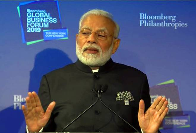 Modi at Bloomberg Business Forum LIVE: PM tells the world to 'come to India' and invest