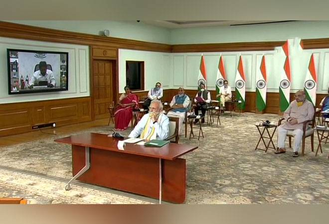 PM Modi interacts with CMs: Meeting focusses on COVID-19 containment strategy, boosting economy
