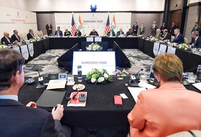 Modi in Houston: PM holds meeting with CEOs from energy sector