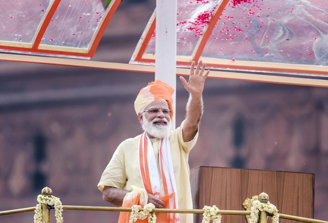 74th Independence Day: PM Modi says 'Atma Nirbhar Bharat' 32 times in speech; no China, Pak mention