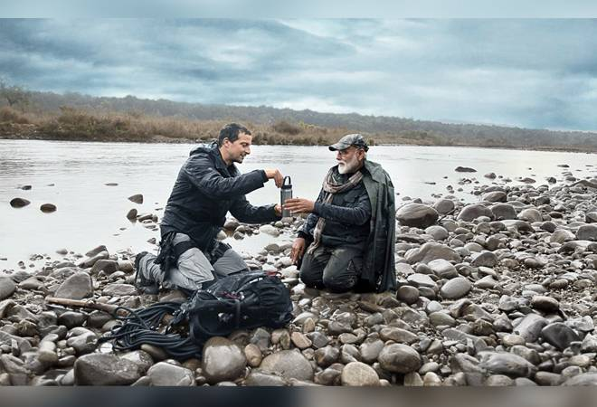 Man vs Wild: PM Modi enters the wild with spear in hand in Bear Grylls' show