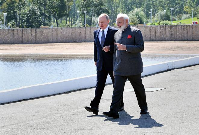 Modi-Putin meet: Kashmir, Chennai-Vladivostok maritime route, space missions among issues discussed