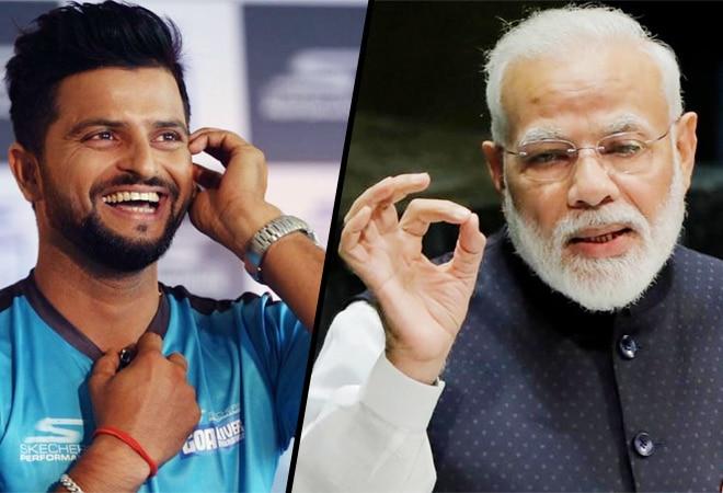 'Suresh Raina synonymous with team spirit,' writes PM Modi in letter to batsman