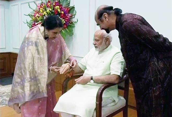 Raksha Bandhan 2019: PM Modi to celebrate rakhi festival with his Pakistani-origin sister