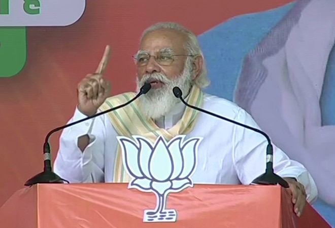 NDA defeated 'double-double yuvraj' in UP, it'll do the same in Bihar: PM Modi at Chapra rally