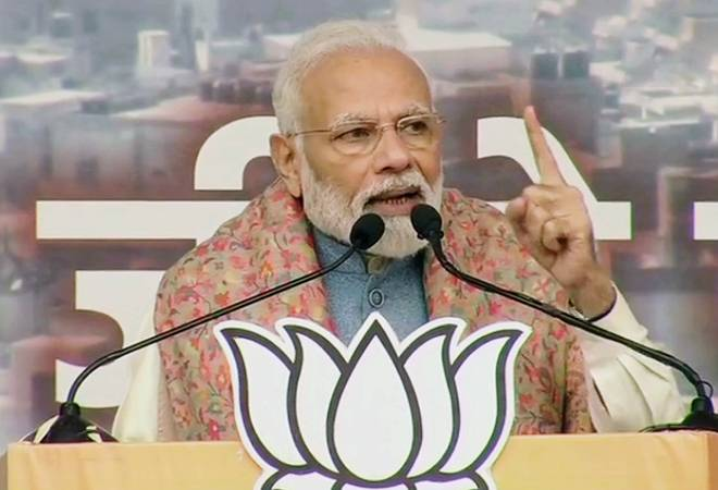 Modi rally: Congress, other parties playing divisive politics on CAA; they are lying to entire country, says PM