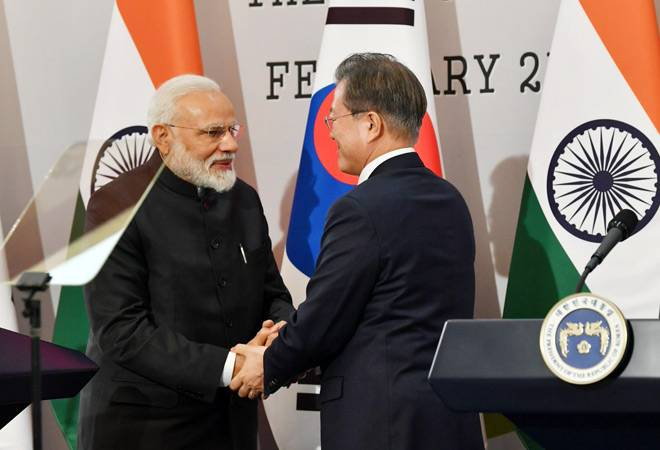 PM Modi in Seoul: Holds 'constructive' talks with President Moon; pays tribute to fallen soldiers