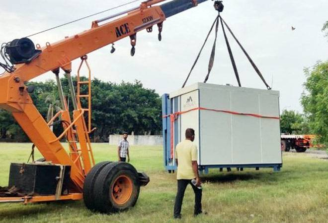 IIT Madras-incubated start-up rolls out portable hospitals to fight COVID-19