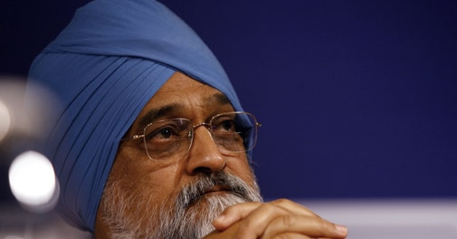 Planning Commission Deputy Chairperson Montek Singh Ahluwalia