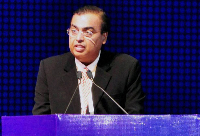 RIL Chief Mukesh Ambani