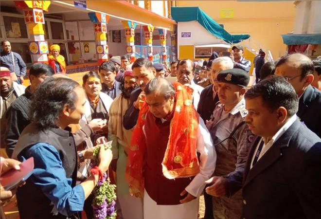 Mukesh Ambani visits Badrinath Kedarnath temple; donates Rs 2 crore to buy sandalwood