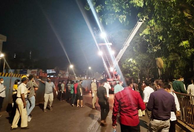Mumbai hospital fire: 1 dead, 70 COVID-19 patients evacuated; rescue operation on