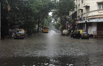 Mumbai rains updates: Trains stopped, offices shut; red alert issued for next 48 hrs
