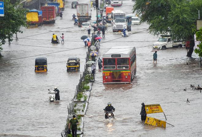 Mumbai rains: Red alert issued as second-worst August downpour in decade wreaks havoc